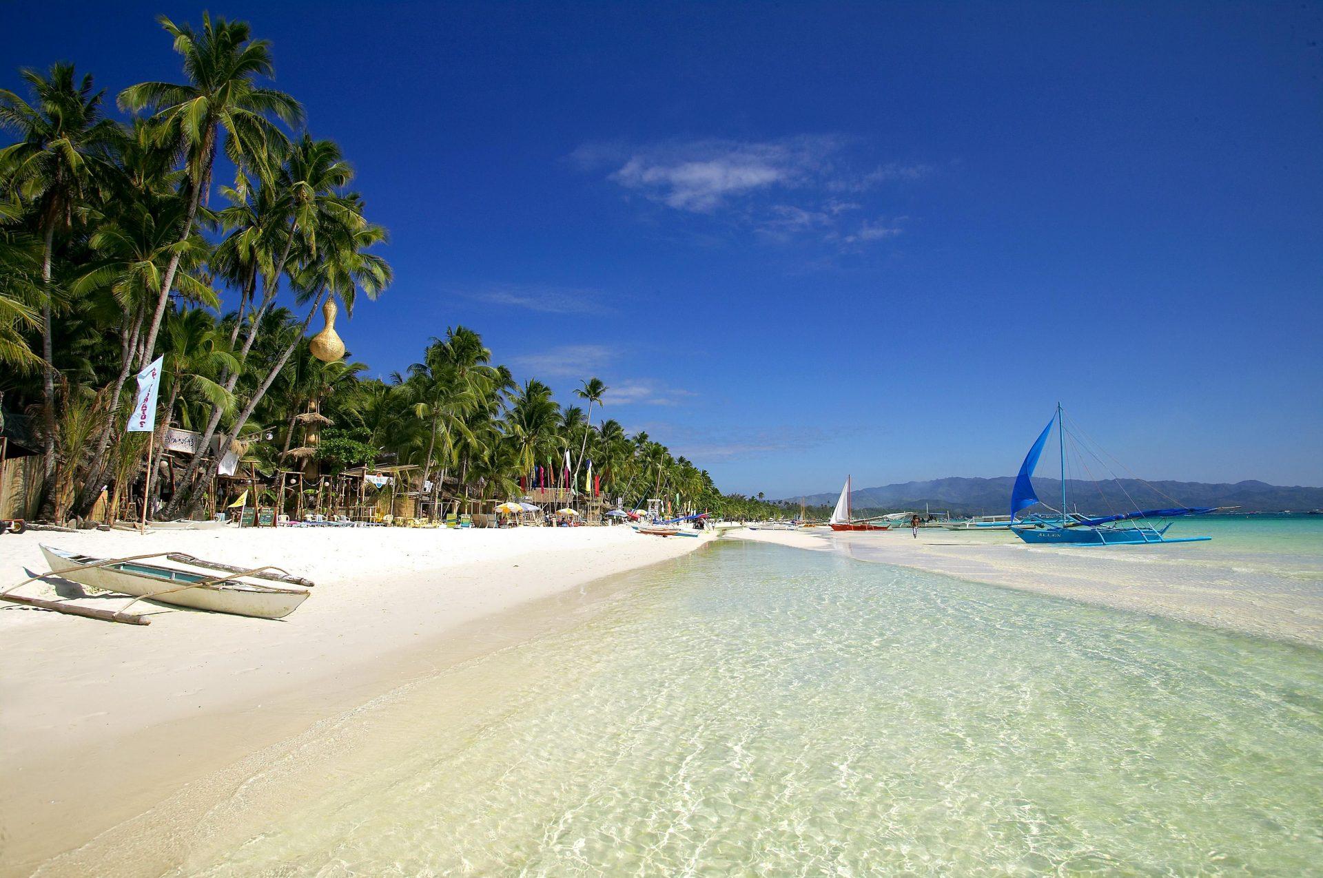 Boracay Filipiny Tropikalny Raj