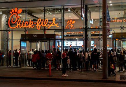 Chick-fil-a -Amerykanski Fast food