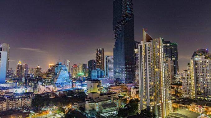 Bangkok Furama Widok
