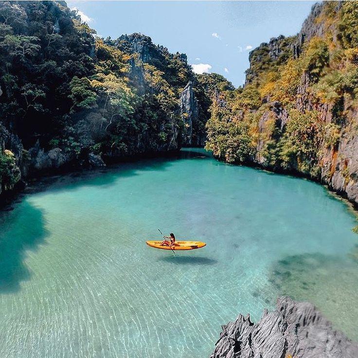 Palawan Filipiny Kajaki