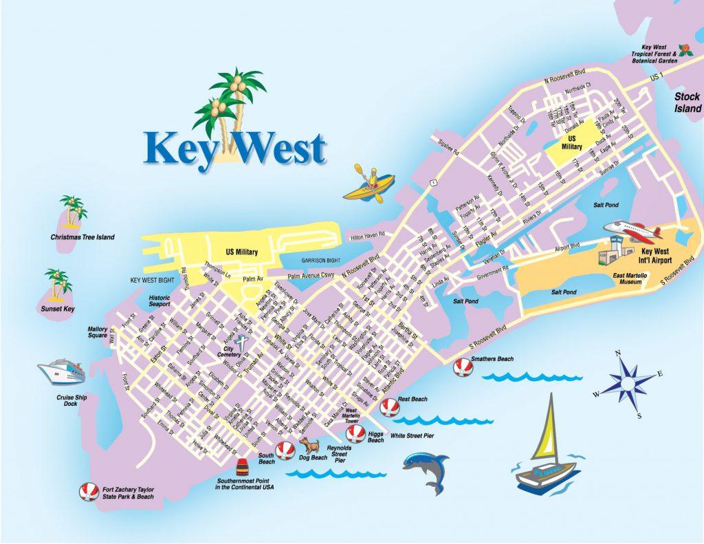 Mapa Key West